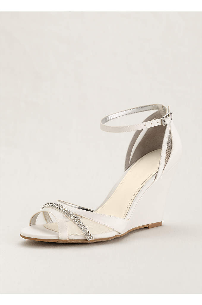 Touch of Nina Ankle Strap Wedge Sandals