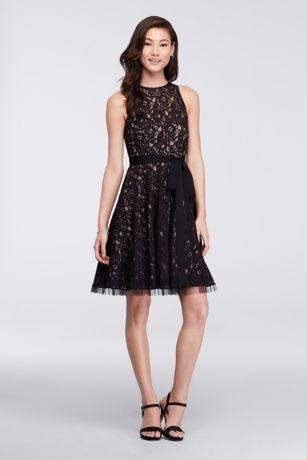 Short Lace Black