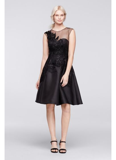 Short A-Line Cap Sleeves Cocktail and Party Dress - Viola Chan