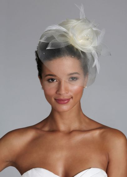 Horsehair Fascinator Hat  VH8300
