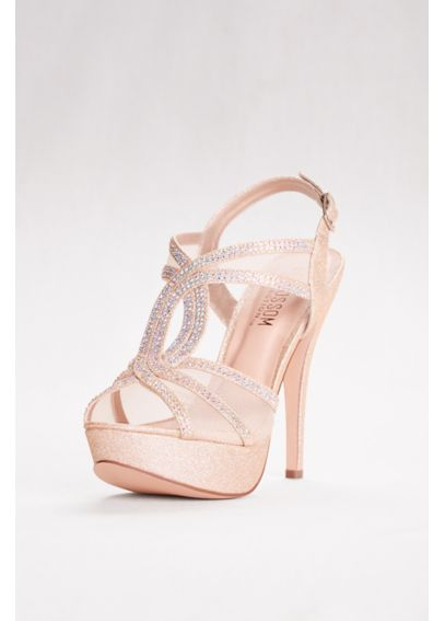 High Heel Platform Sandal with Mesh Upper VICE-254