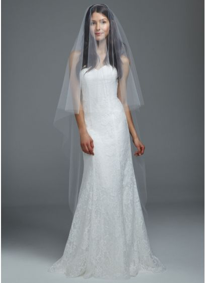 Classic Cathedral Length Veil - Wedding Accessories