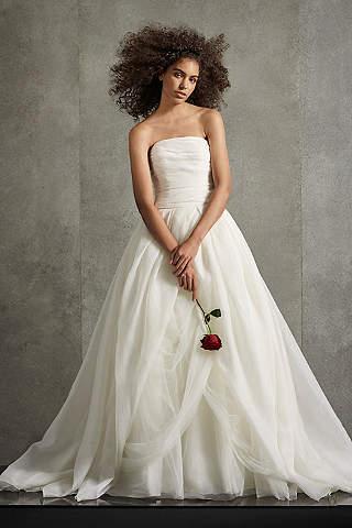Vestido de Novia de Organza Texturizada de White Vera Wang