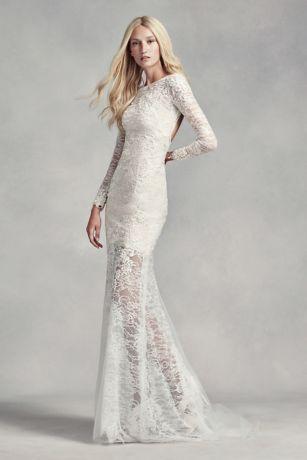 Lace and Beading Wedding Dresses