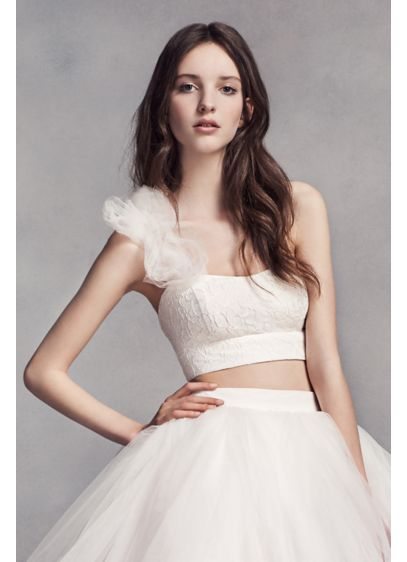 Short Ballgown Dress Alternatives Wedding Dress - White by Vera Wang