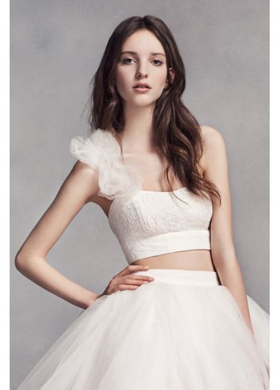 White by Vera Wang Crop Top VW351331