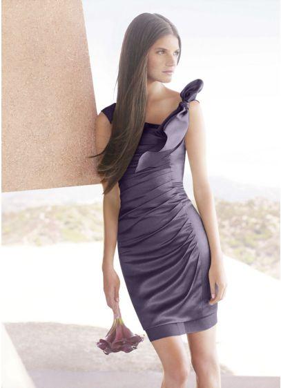 Short Sheath Modern Chic Wedding Dress -