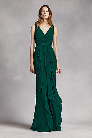 Forest Green Bridesmaid Dresses | David's Bridal