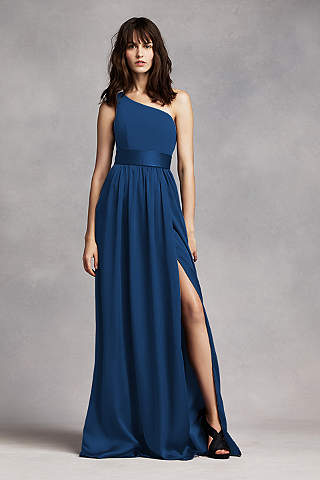 Cheap bridesmaid dresses navy blue