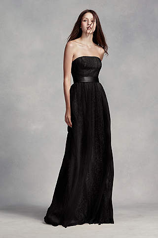 Black Bridesmaid Dresses: Short & Long | David's Bridal