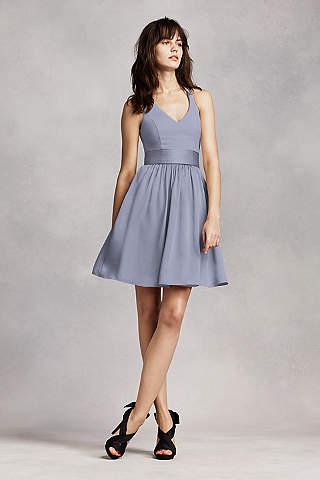 Vestido Para Dama Corto Halter de Vera Wang