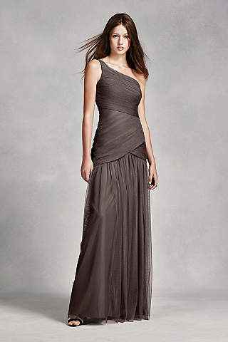 Grey Bridesmaid Dresses: Long & Short | David's Bridal