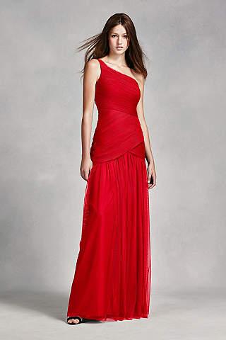 Red Bridesmaid Dresses | David's Bridal