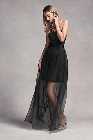 Vestido Para Dama Con Falda de Transparente.