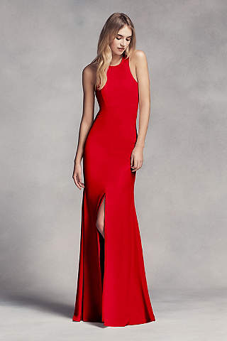 Long Red Formal Dress