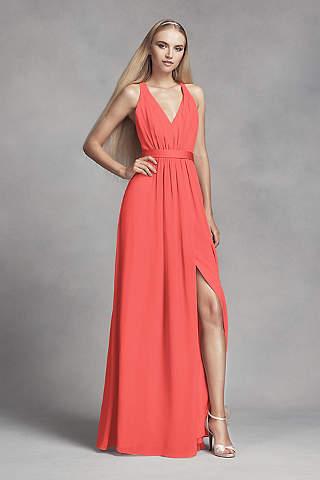 Coral Bridesmaid Dresses: Short & Long   David's Bridal