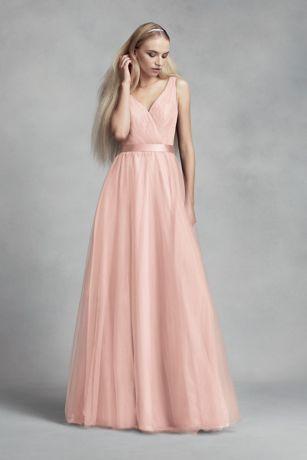 Surplice lace dress