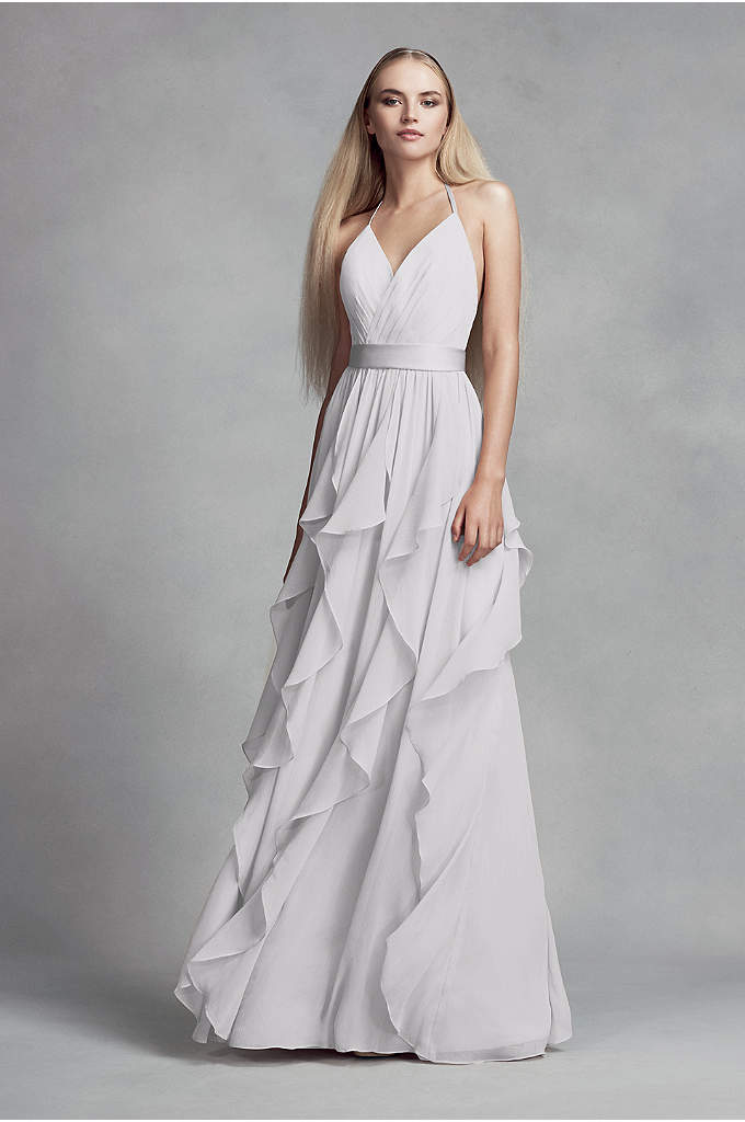 Satin Tank Dress With Short Ball Gown Skirt David S Bridal