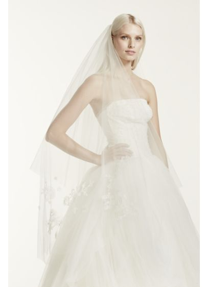 0 Wedding Dress - White by Vera Wang
