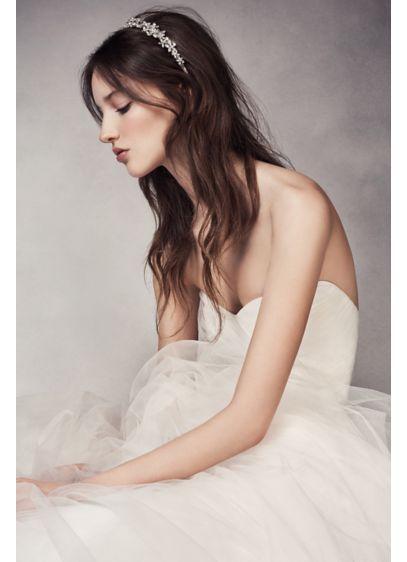 Crystal Flower Headband - Wedding Accessories