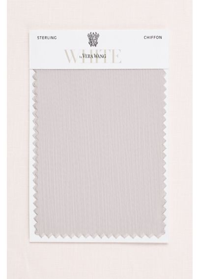 Sterling Crinkle Chiffon Fabric Swatch VWSWATCHSTERLING