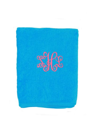 DB Exclusive Personalized Terry Beach Towel W05