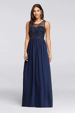 Navy Blue Bridesmaid Dresses You\'ll Love | David\'s Bridal