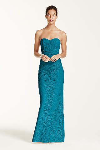 bridesmaid dresses tea length asymmetrical turquoise teal