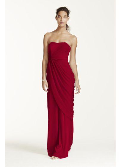 Long Sheath Modern Chic Wedding Dress - David's Bridal