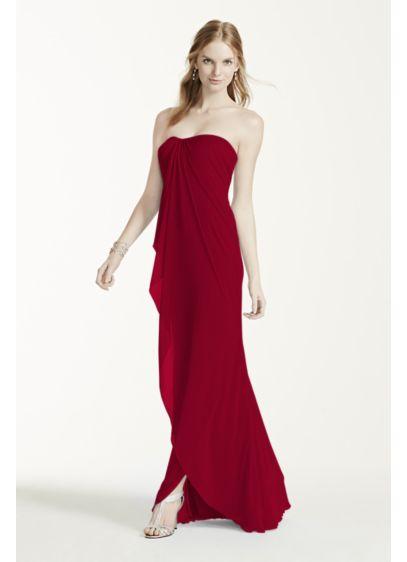 Long Sheath Strapless Dress - David's Bridal