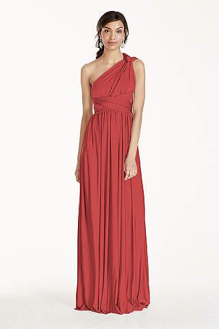 Coral Bridesmaid Dresses: Short & Long | David's Bridal