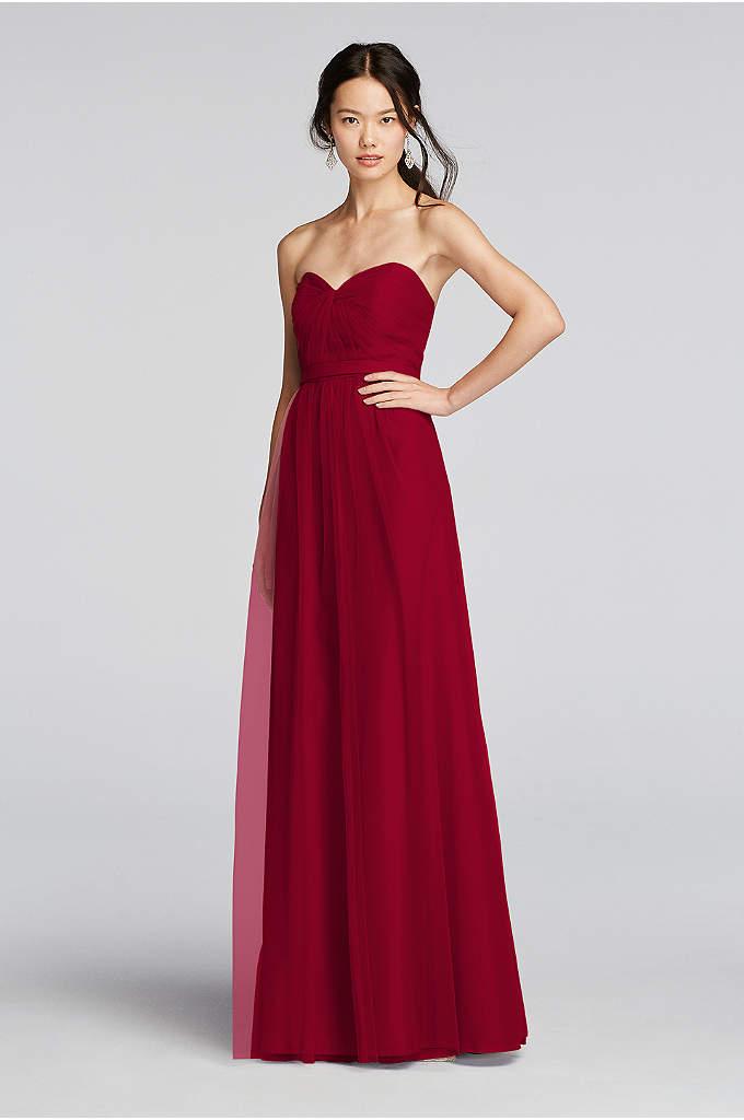 Truly zac posen bridesmaid dresses 2017 david 39 s bridal for Removable skirt wedding dress davids bridal