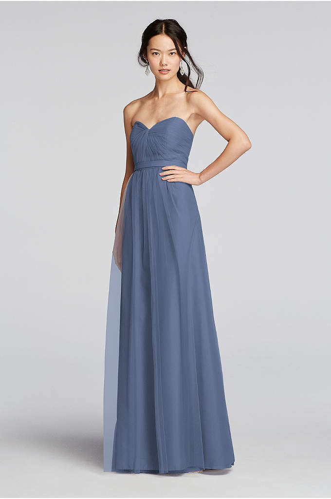 Floral Halter Bridesmaid Dress With Slit Skirt David 39 S