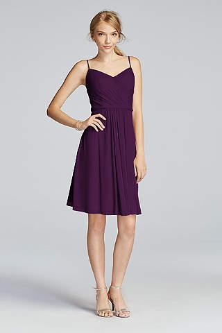 Purple Bridesmaid Dresses: Light & Dark Colors | David's Bridal