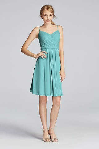 Turquoise & Aqua Bridesmaid Dresses | David's Bridal