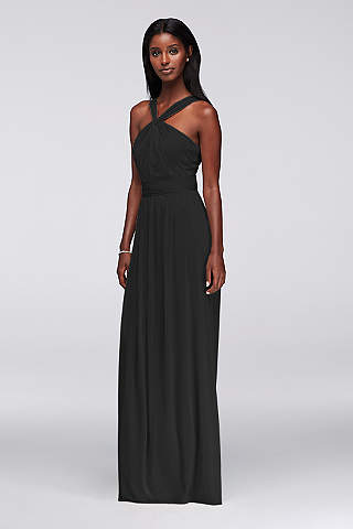 Bridesmaid Dresses Black