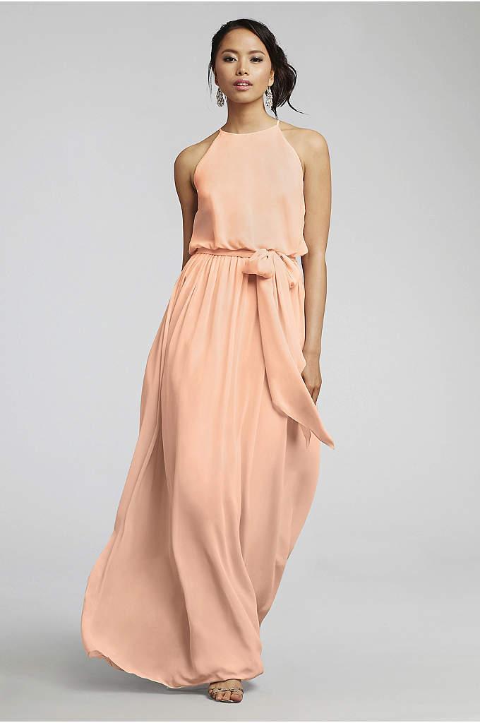 Alana Chiffon Bridesmaid Dress - This chiffon bridesmaid dress is beautifully simple. The