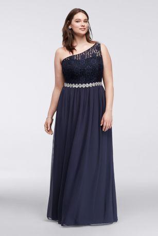 Plus Chiffon Dress