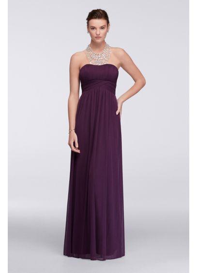 Long A-Line Halter Formal Dresses Dress - David's Bridal