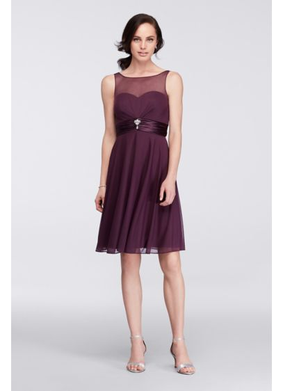 Short A-Line Tank Cocktail and Party Dress - David's Bridal