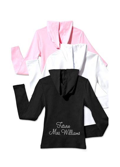 Personalized Mrs. Rhinestone Hoodie - Wedding Gifts & Decorations