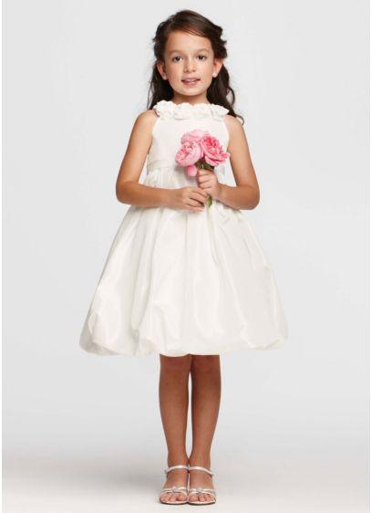 Short Ballgown Tank Communion Dress - David's Bridal