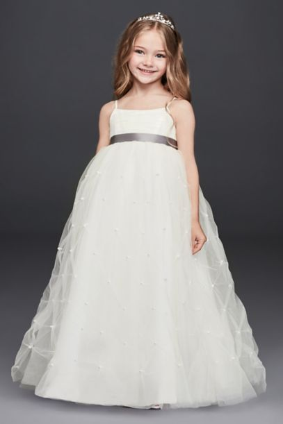 Flower Girl Dresses in Various Colors &amp- Styles - David&-39-s Bridal
