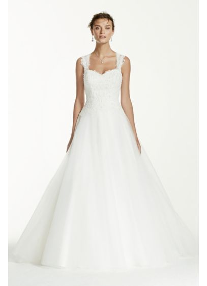 Tulle Wedding Dress With Illusion Back Detail