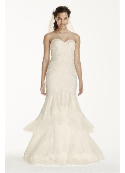 Long 0 Formal Wedding Dress - Jewel