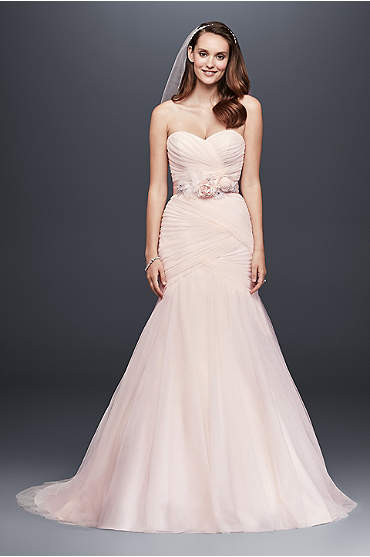 Mermaid Wedding Dress Silhouette Style Guide David S Bridal