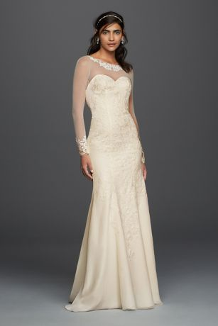 Chiffon Gowns with Sleeves