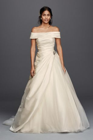 Wedding Dress with Pickups