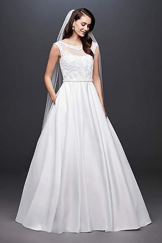 Vestidos de novia talla petite