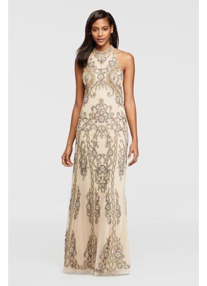 Long Mermaid/ Trumpet Halter Formal Dresses Dress - David's Bridal